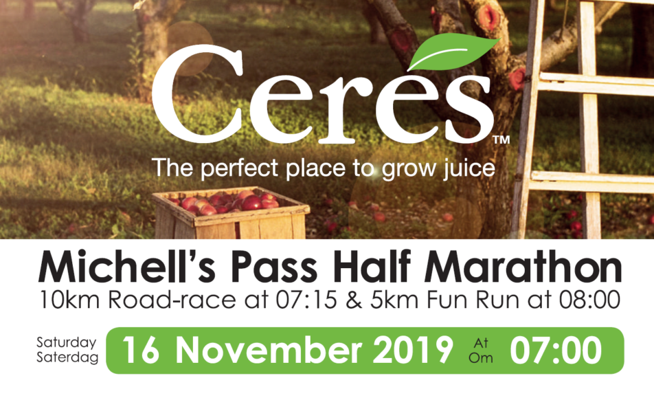 Ceres Michells Pass Half Marathon 2019